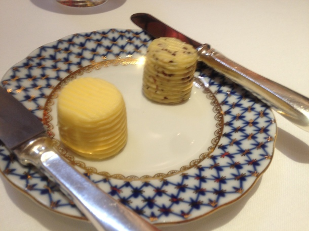 Plain and seaweed butter