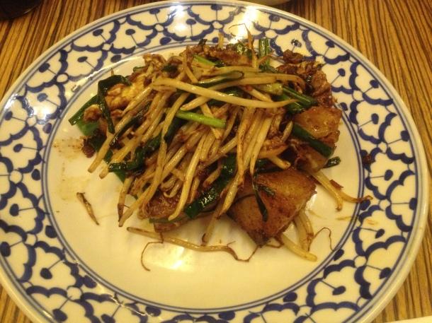 Changmama's pan-fried turnip cake