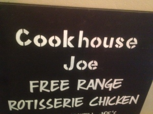Cookhouse Joe don't have a business card