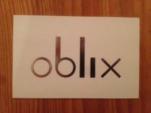 Oblix business card