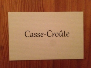 Casse-Croûte business card