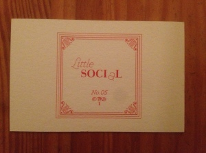 Little Social business card