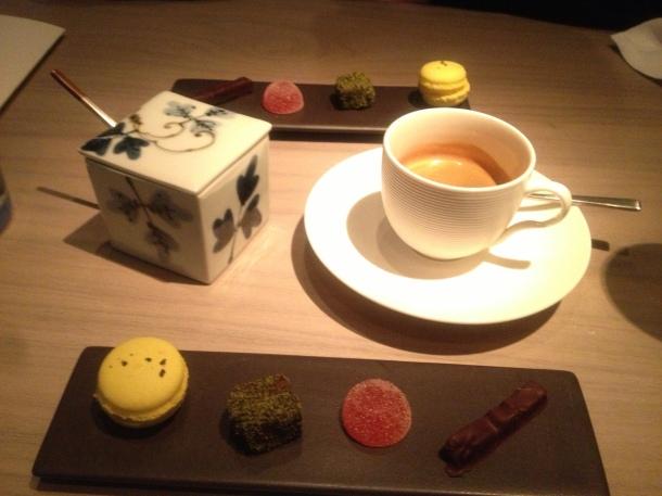 Coffee petit fours