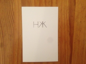 HKK business card