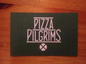 Pizza Pilgrims business card