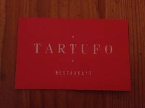 Tartufo business card