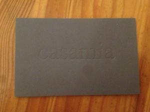 Casamia business card