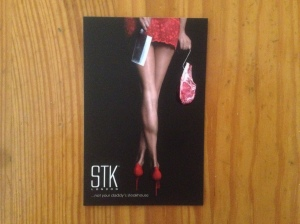 STK business card