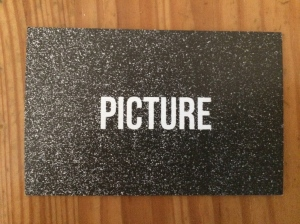 Picture business card