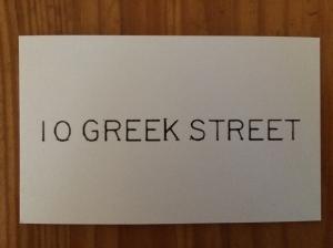 10 Greek Street