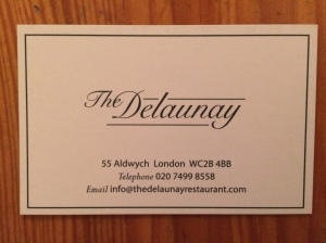 Delaunay business card
