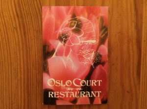 Oslo Court business card