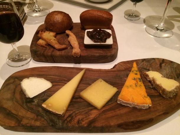 assiette de fromages affinés