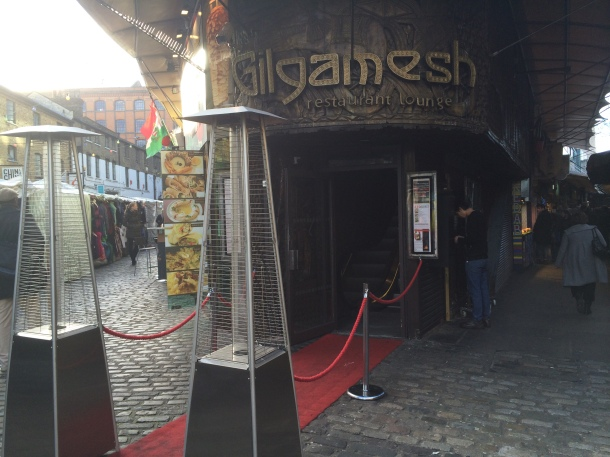 Gilgamesh outside