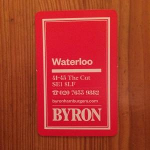 Byron business card