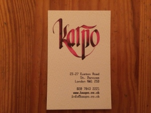 Karpo business card