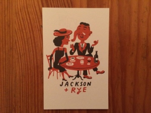 Jackson and Rye business card