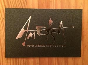 Ametsa business card