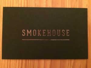 Smokehouse business card