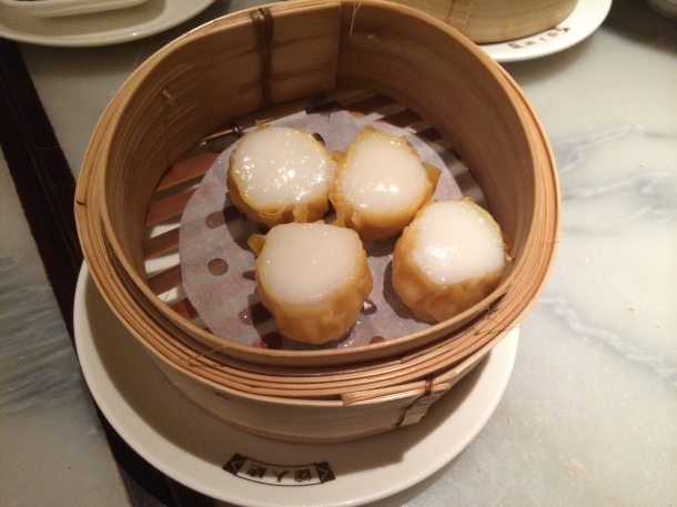 Scallop dumplings China Tang