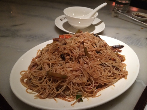 Noodles with duck China Tang