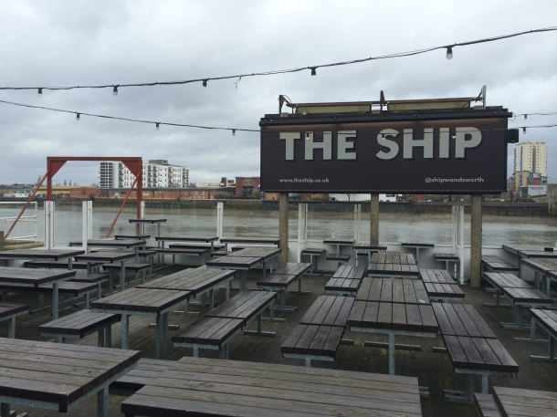 The Ship terrace