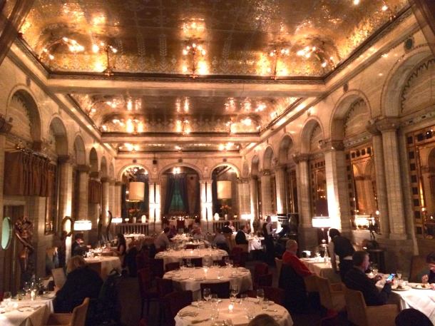 The Criterion dining room