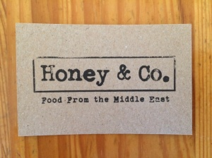 Honey and Co. business card