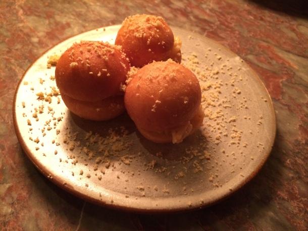 Crab donuts