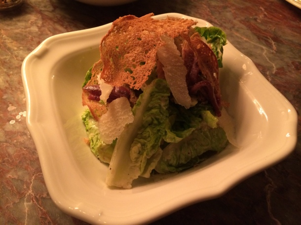 Firehouse Caesar salad