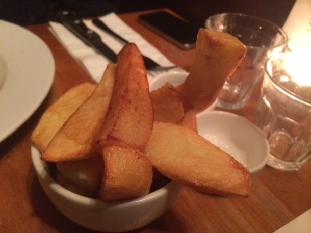 Chips at Great Queen Street