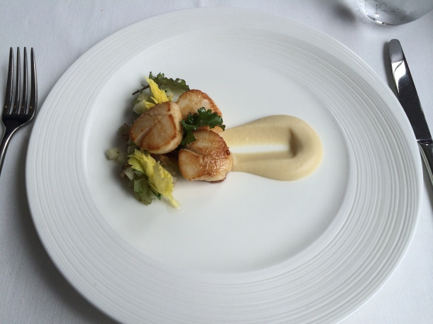 Scallops at London House