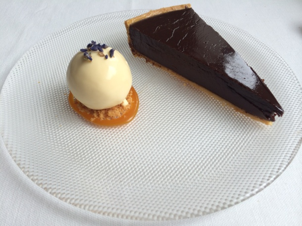 Chocolate tart at London House