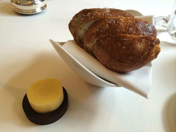 Fennel and potato bread
