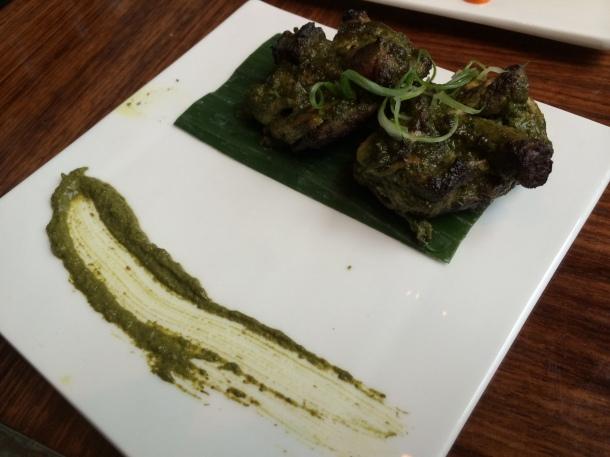 Tandoori chicken chop Amaya