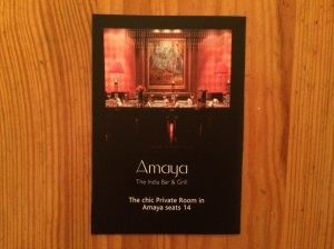 Amaya business card