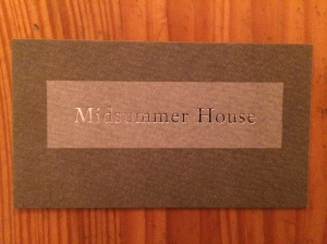 Midsummer House business card