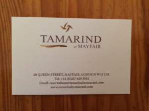 Tamarind business card