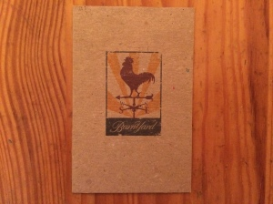 Barnyard business card