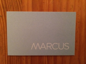 Marcus business card