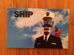 The Ship business card