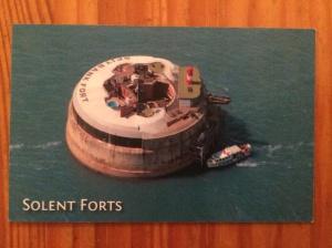 Spitbank Fort business card