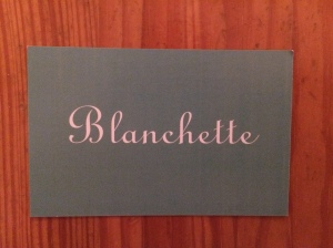 Blanchette business card