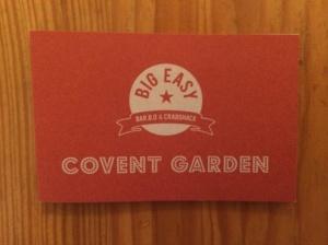 Big Easy Covent Garden