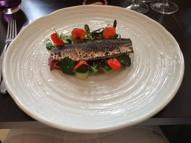 Torched mackerel