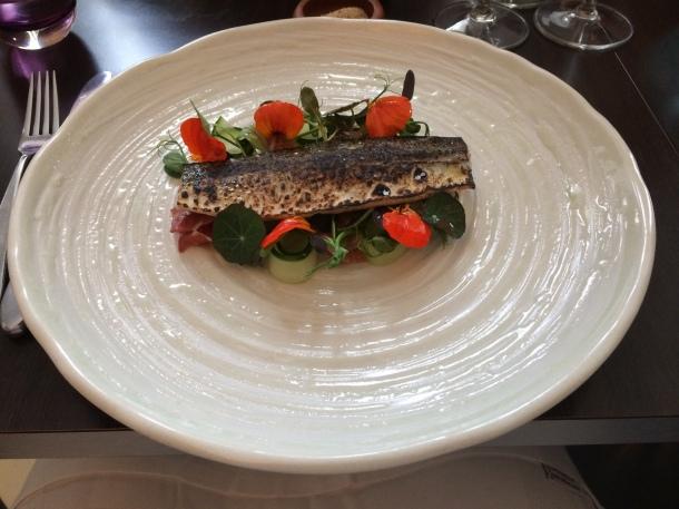 Torched mackerel