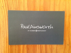 Paul Ainsworth business card