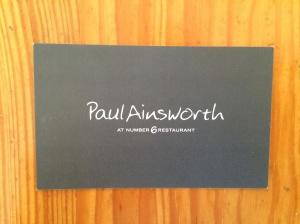 Paul Ainsworth business card
