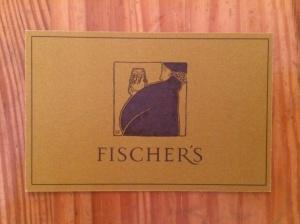 Fischer's business card