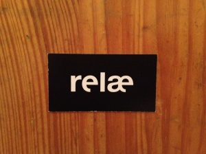 Relae business card